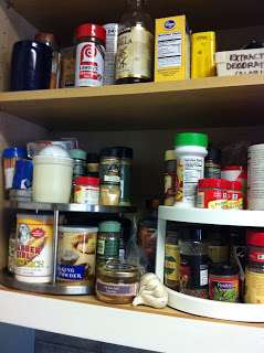 She's Spicy –Organizing your spice cabinet