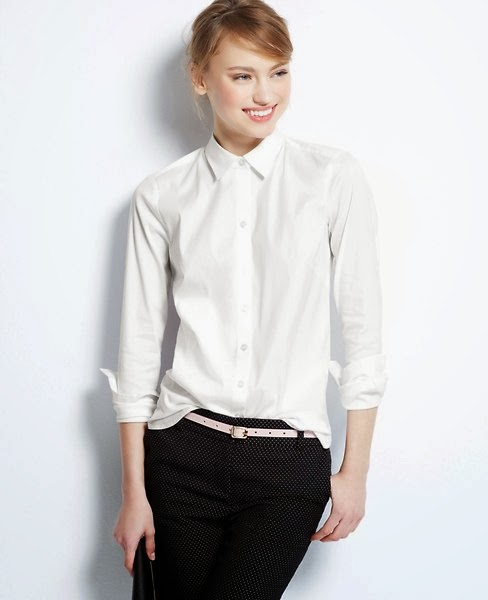Buzz on Fashion — The Perfect White Shirt
