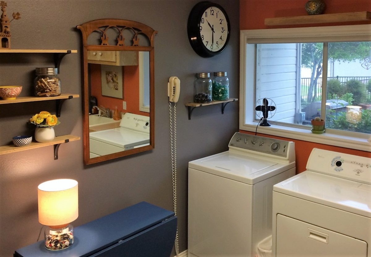 Easy, Breezy Laundry Room Project