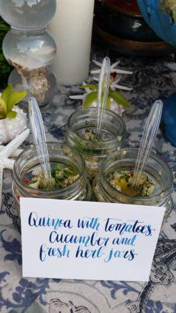 quinoq jars tablescape