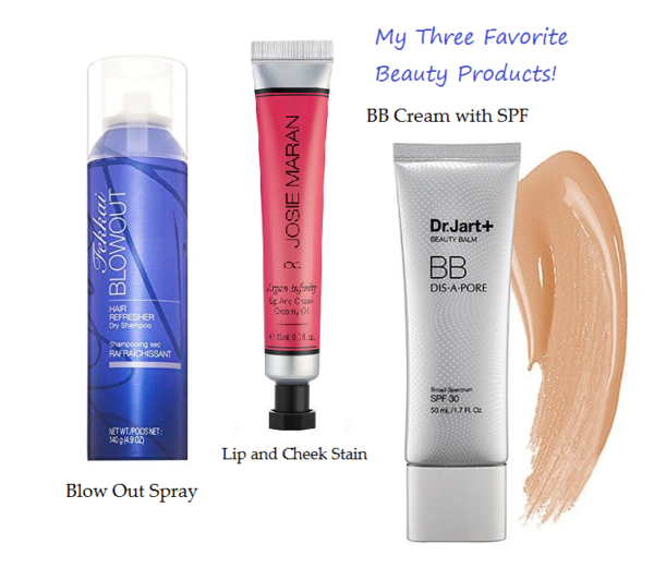 My Three Favorite Beauty Products