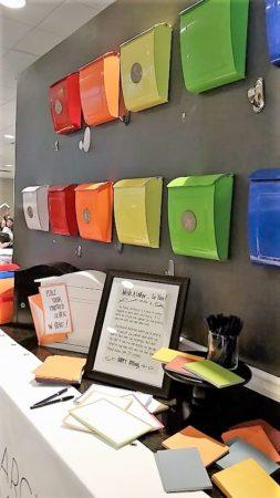 Mailbox display