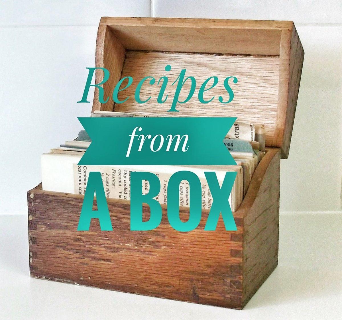 Recipe from a Box:  Cheesy Scalloped Potatoes