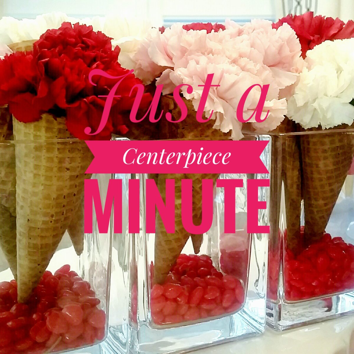 Just a Minute Centerpiece