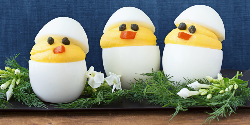 Whimsical Appetizers for Easter