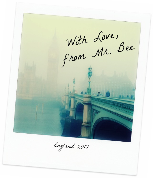 With Love, From Mr. Bee:  Postcards from England Part Two