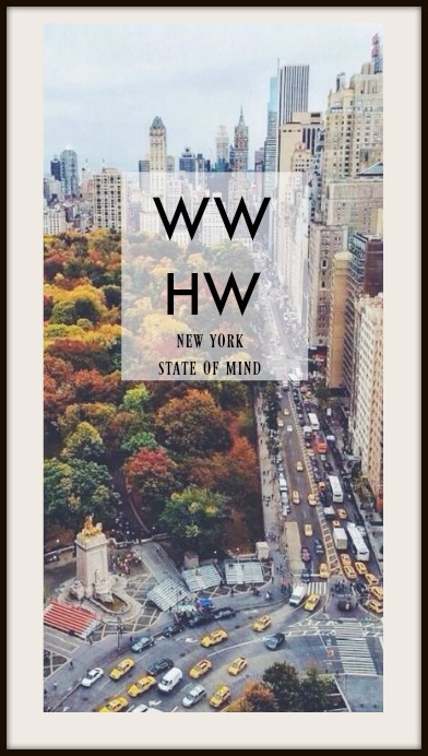 What Would Holley Wear:  New York State of Mind