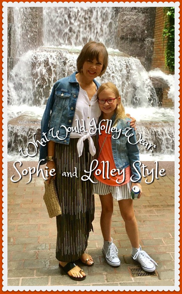 What Would Holley Wear:  Sophie and Lolley Style