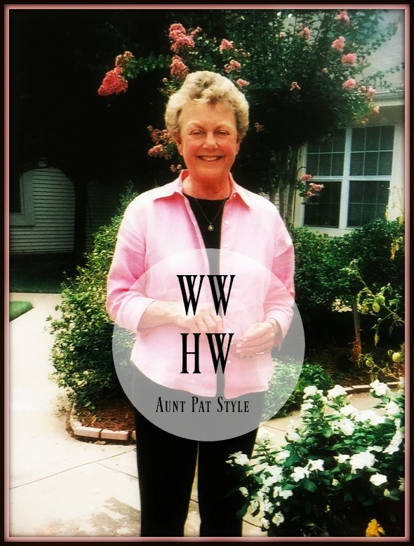 What Would Holley Wear:  Aunt Pat Style