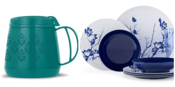 Browsing on the ThermoServ sight I found the cutest wide body travel mug u2014 this so reminded me of taking soup in elementary school!  sc 1 st  Home with a Twist & How to Create a Fall Tablescape with ThermoServ Dinnerware | Home ...
