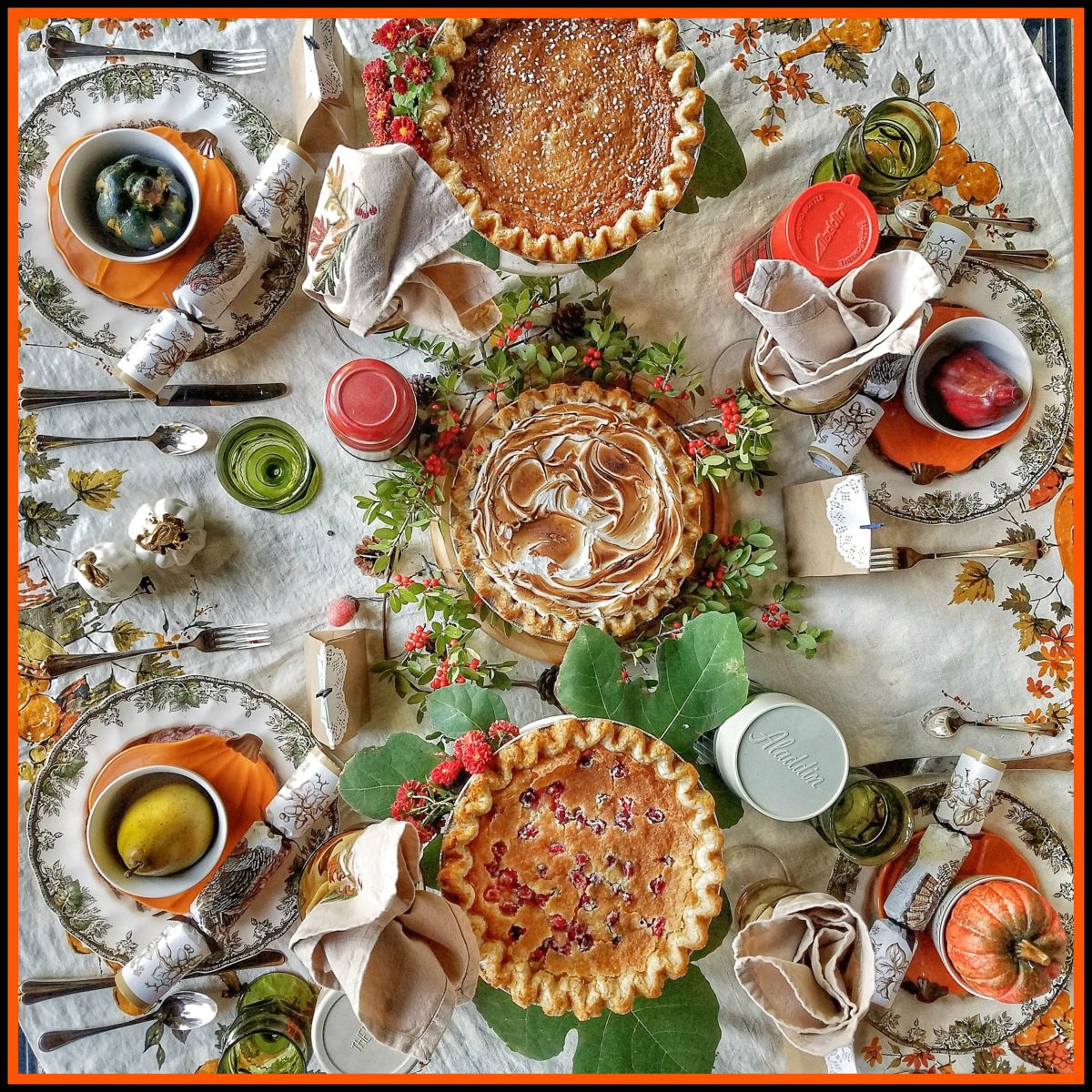 Mrs. Twist's Guide to Thanksgiving:  Make Pies Your Centerpiece!