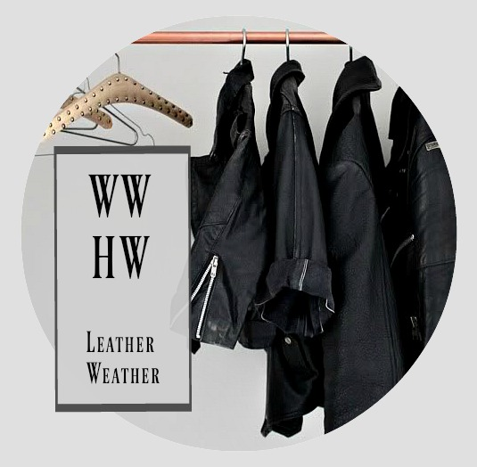 What Would Holley Wear:  Leather Weather