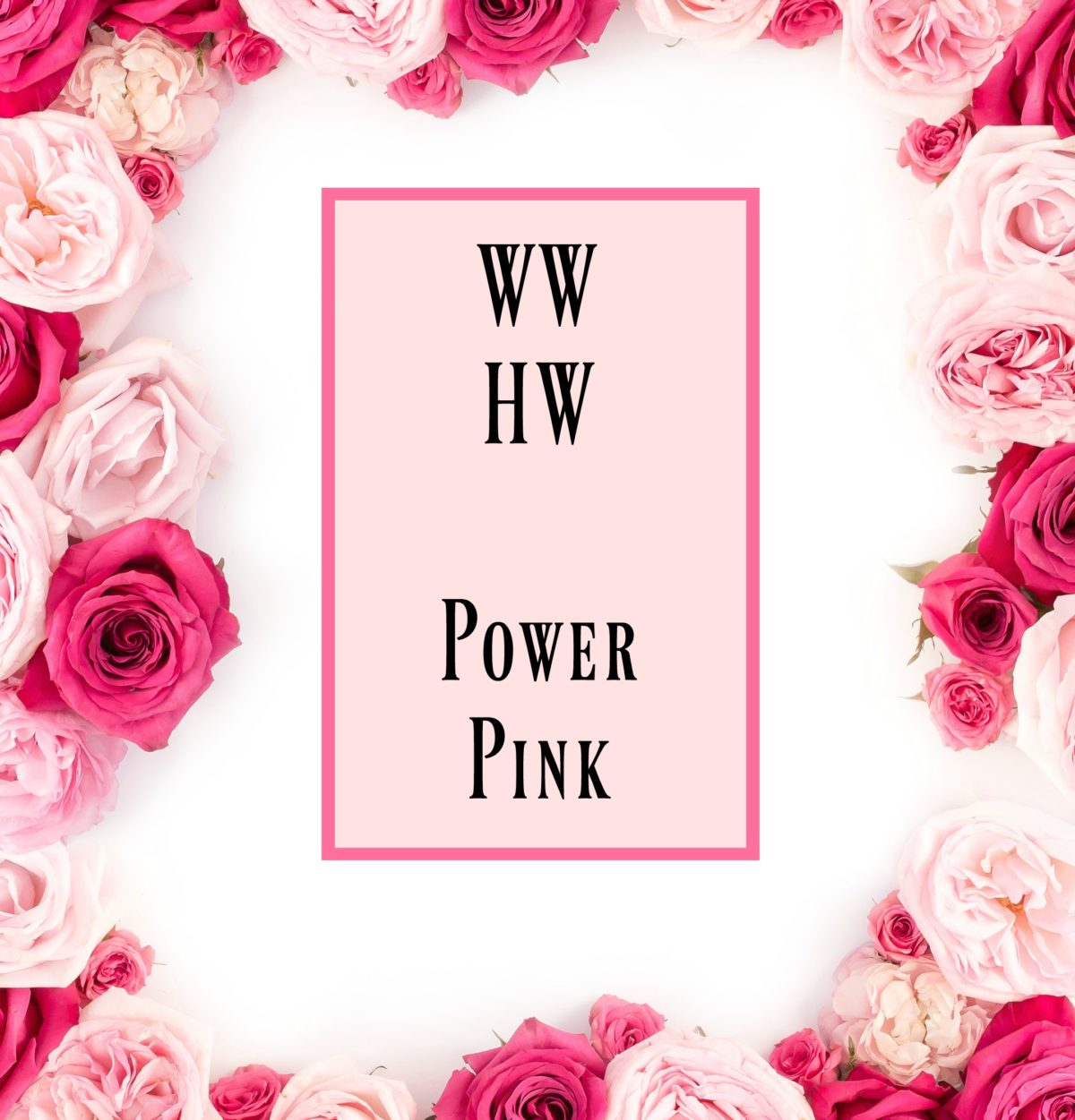 What Would Holley Wear:  Power Pink