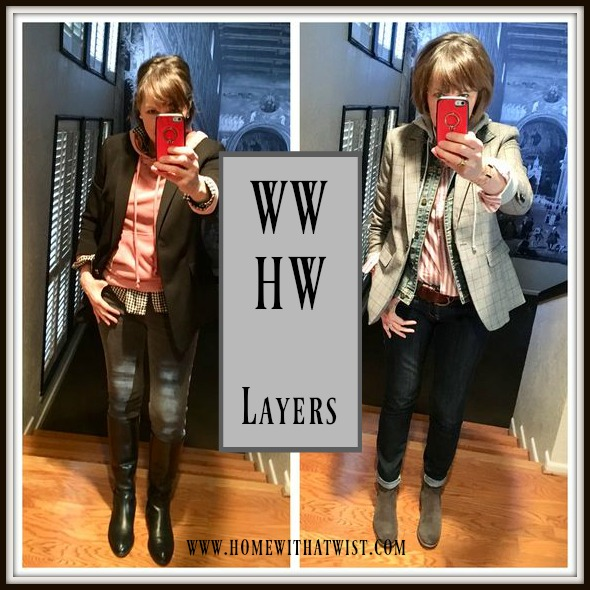 What Would Holley Wear:  Layers