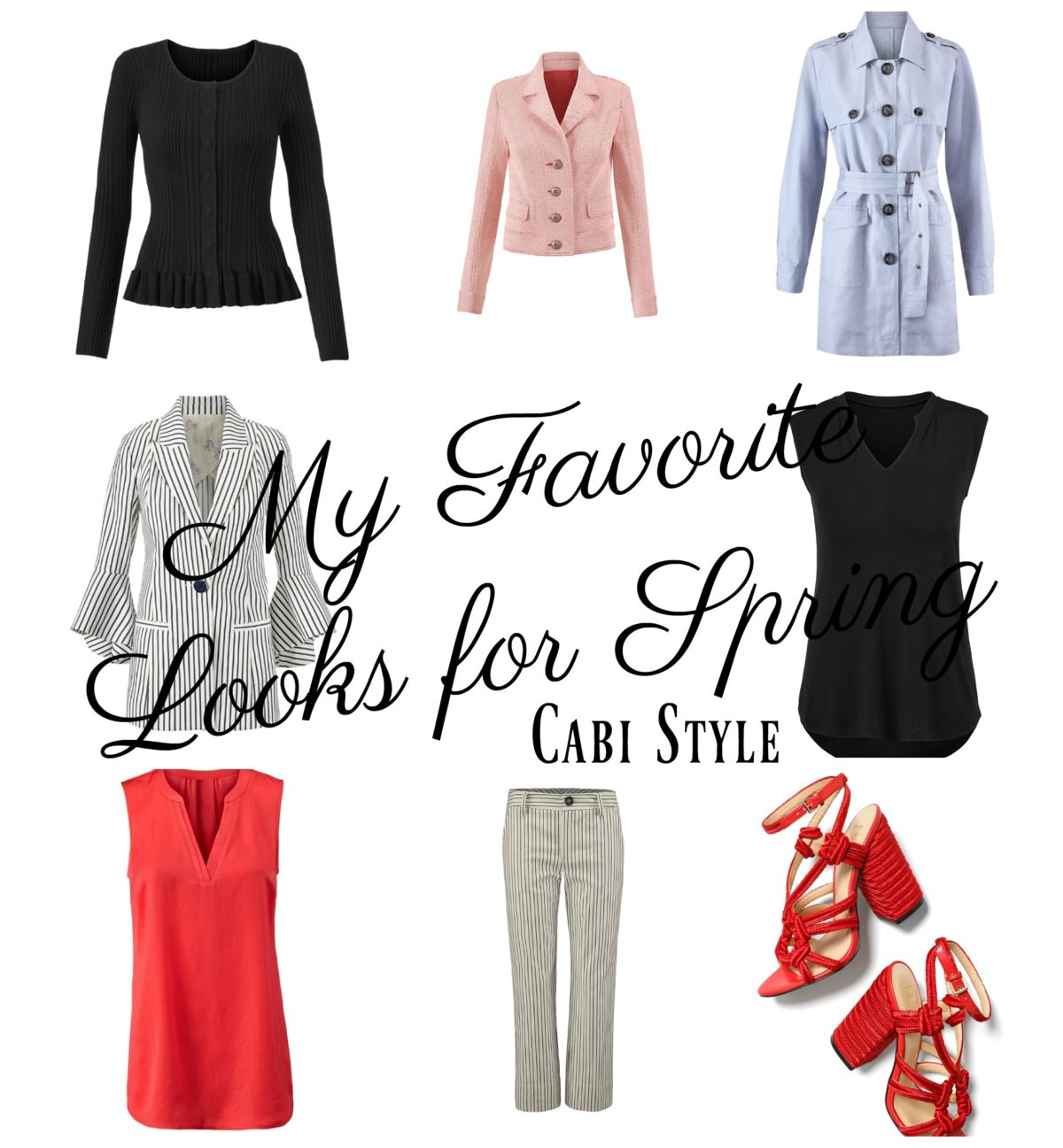 My Four Favorite Looks for Spring:  Cabi Style