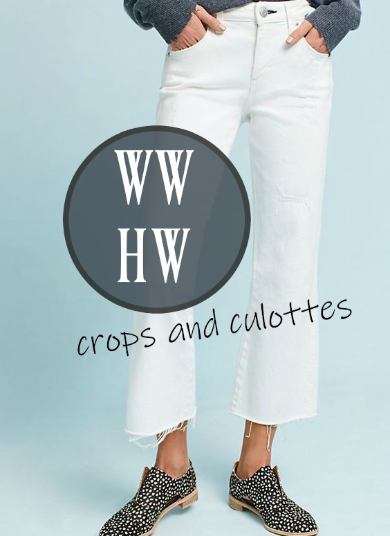 What Would Holley Wear: Crops and Culottes
