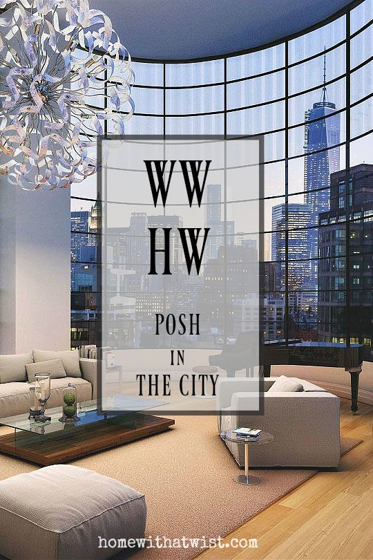 What Would Holley Wear:  Posh in the City