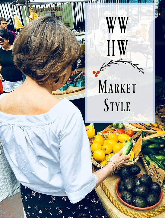 What Would Holley Wear:  Market Style