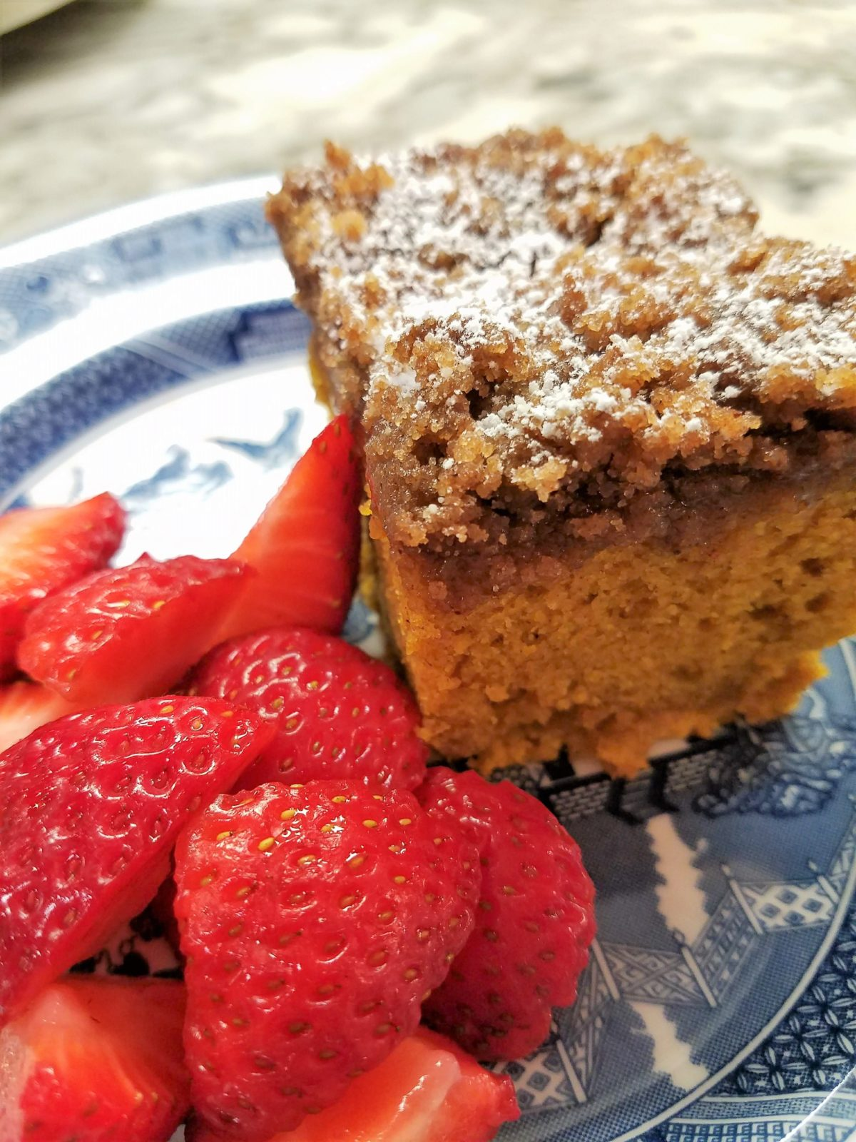 Fall-ish Friday:  Pumpkin Streusel Coffee Cake