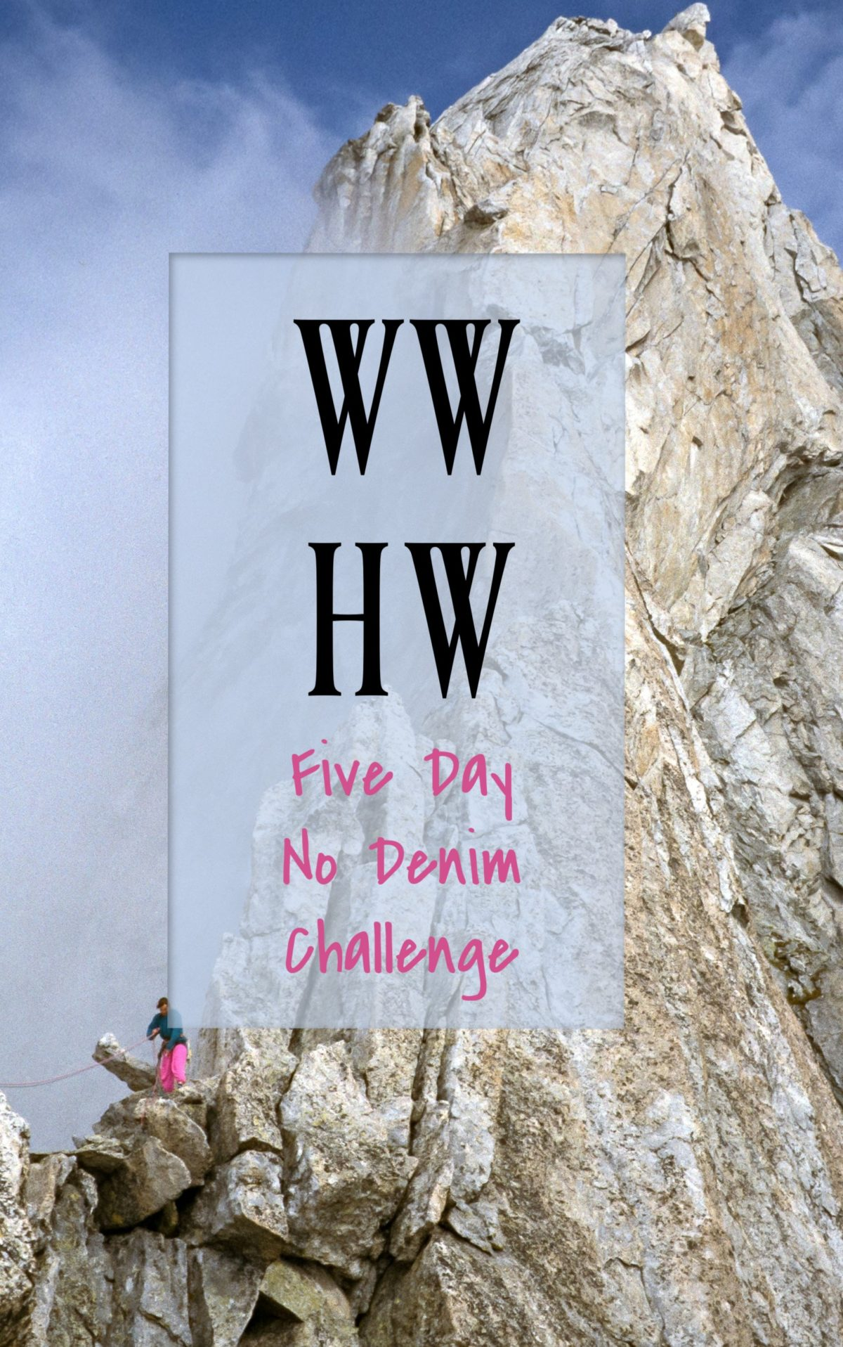What Would Holley Wear: Five Day No Denim Challenge