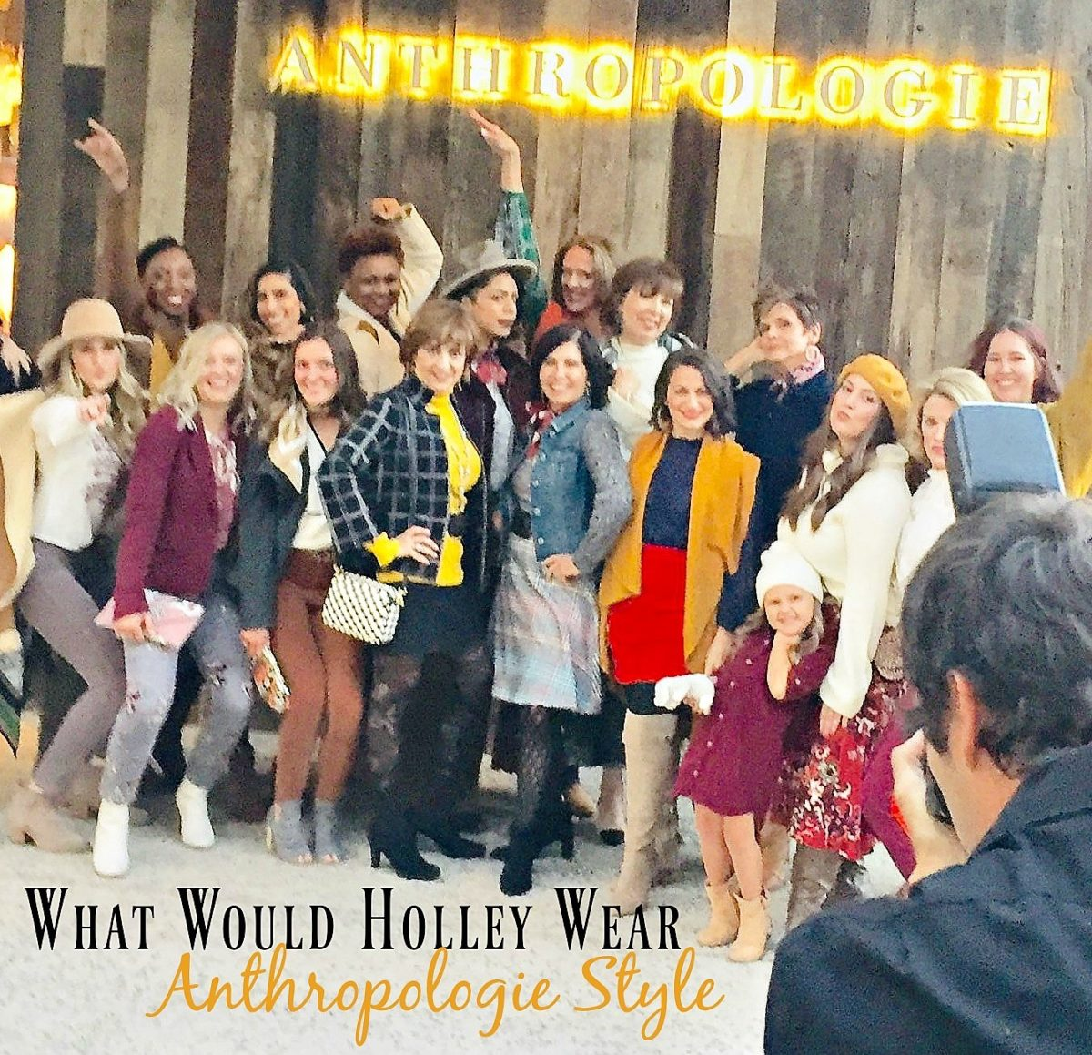 What Would Holley Wear:  Anthropologie