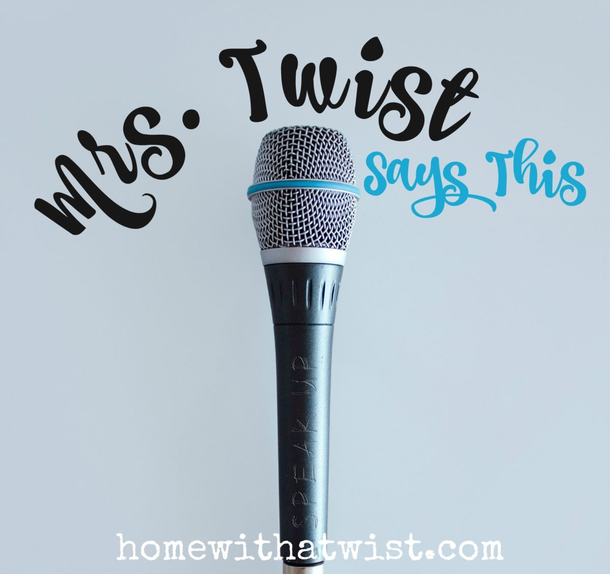 Home with a Twist Podcast — Episode Two