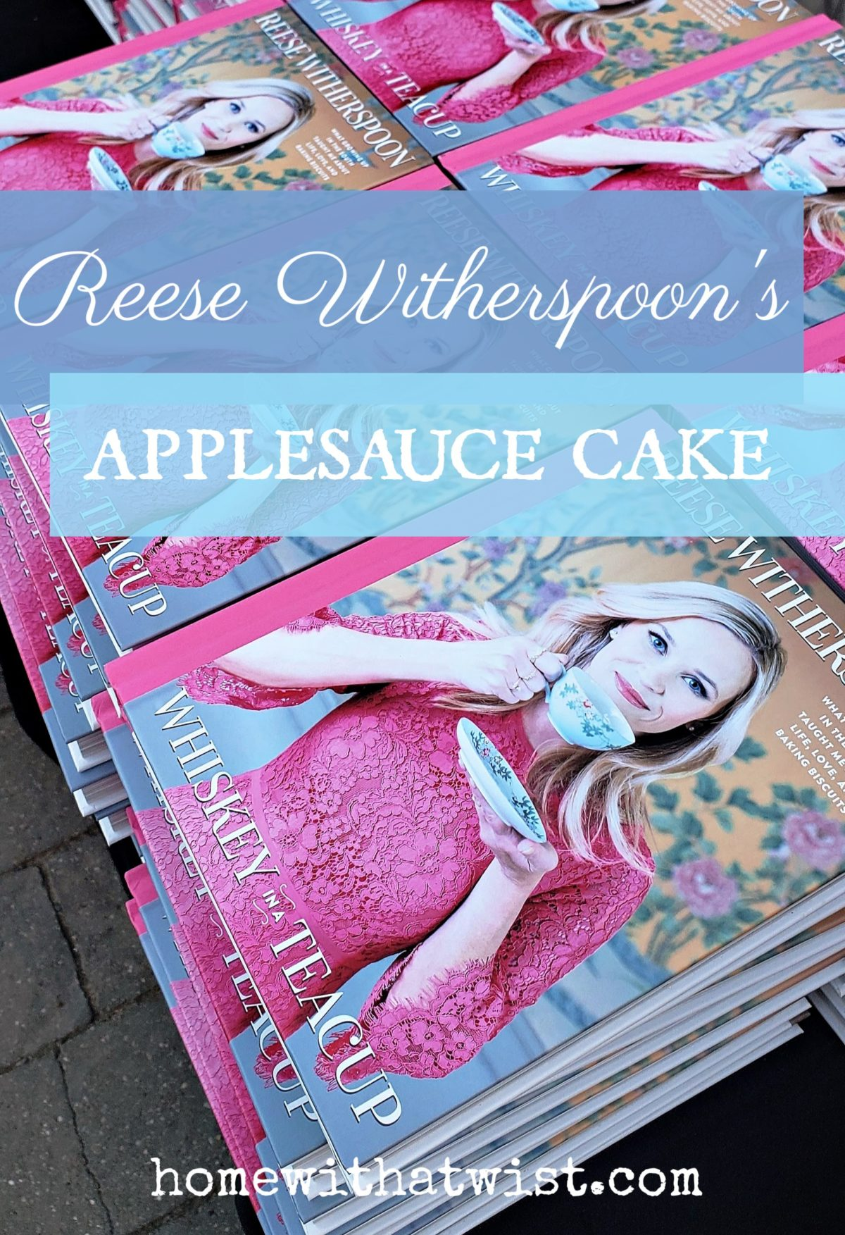 Reese Witherspoon's Applesauce Cake