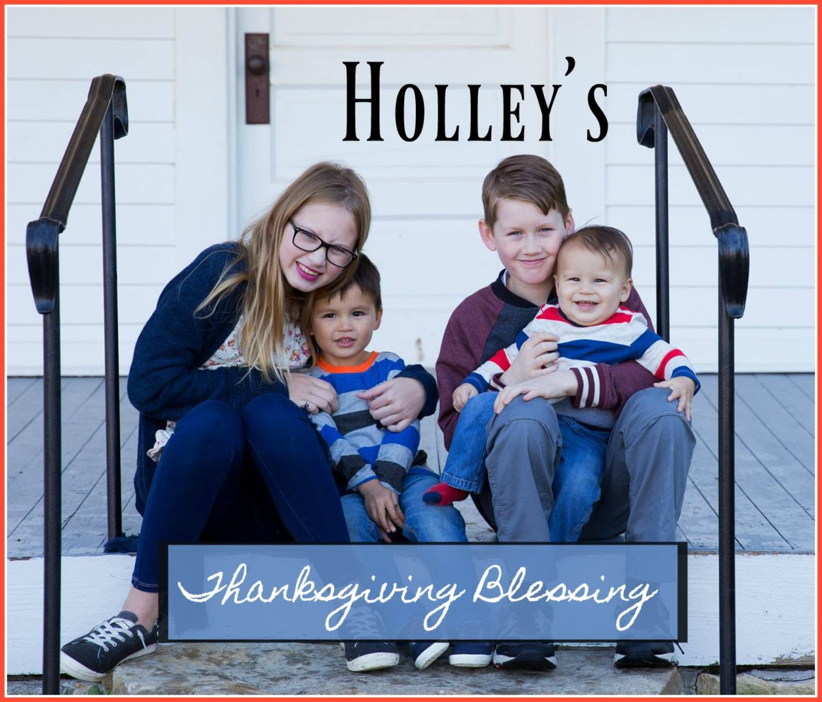 What Would Holley Wear:  Grateful, Thankful, Blessed