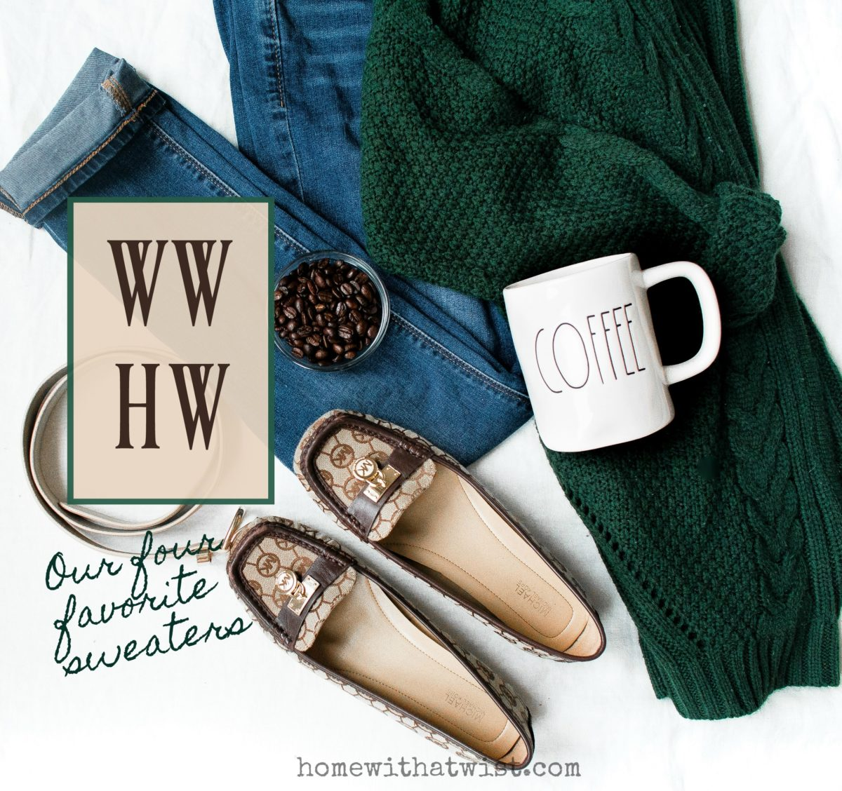 What Would Holley Wear:  Our Four Favorite Sweater Styles
