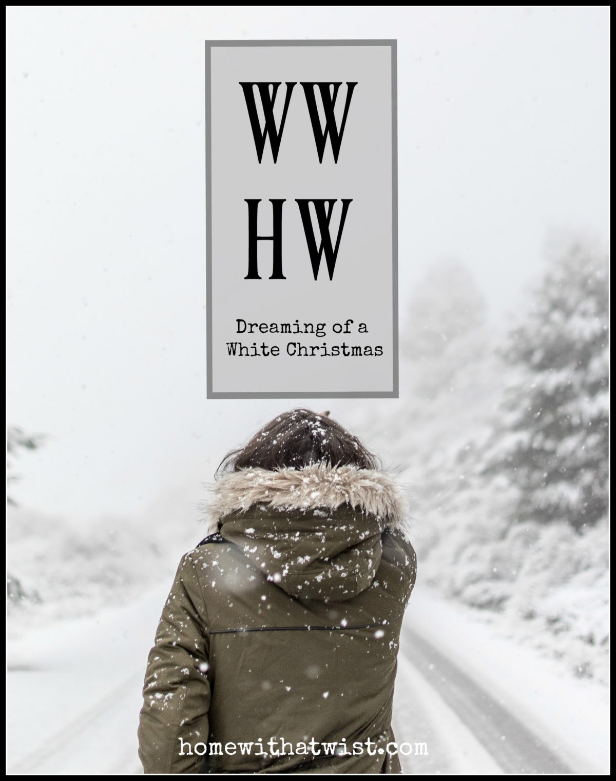 What Would Holley Wear:  Dreaming of a White Christmas