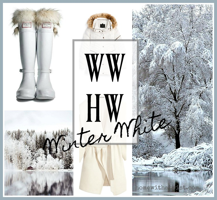 What Would Holley Wear:  Winter White