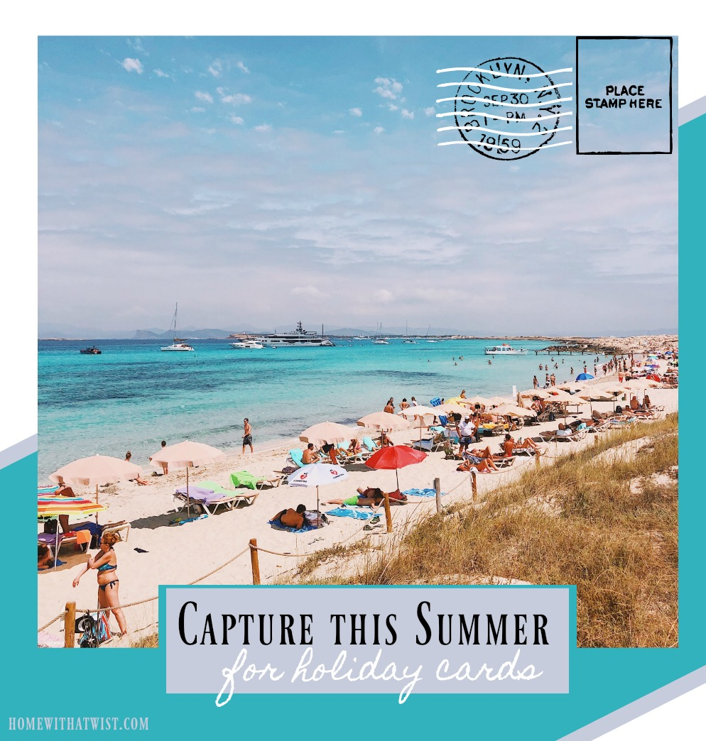 Capture Your Summer for Holiday Cards with Basic Invite and Promo Code