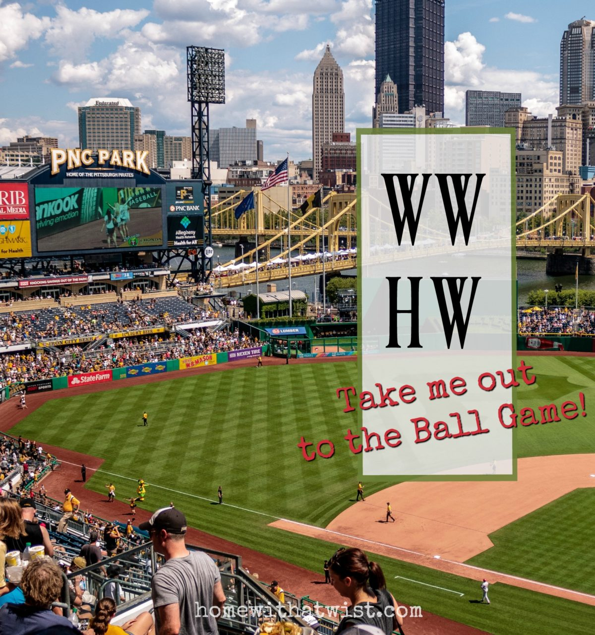 What Would Holley Wear:  Take Me Out to the Ball Game!
