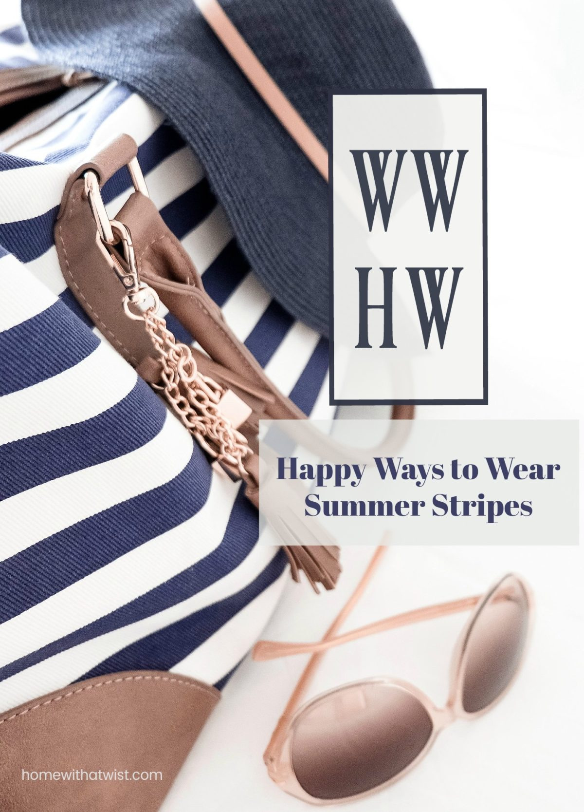 What Would Holley Wear: Happy Ways to Wear Summer Stripes