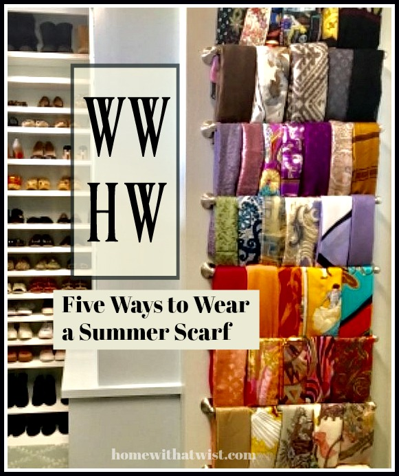 What Would Holley Wear: Five Ways to Wear a Summer Scarf