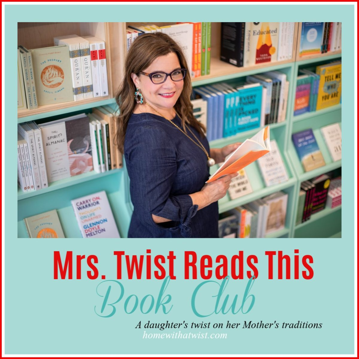 Mrs. Twist Reads This Book Club Selection and Fun Workshop in January