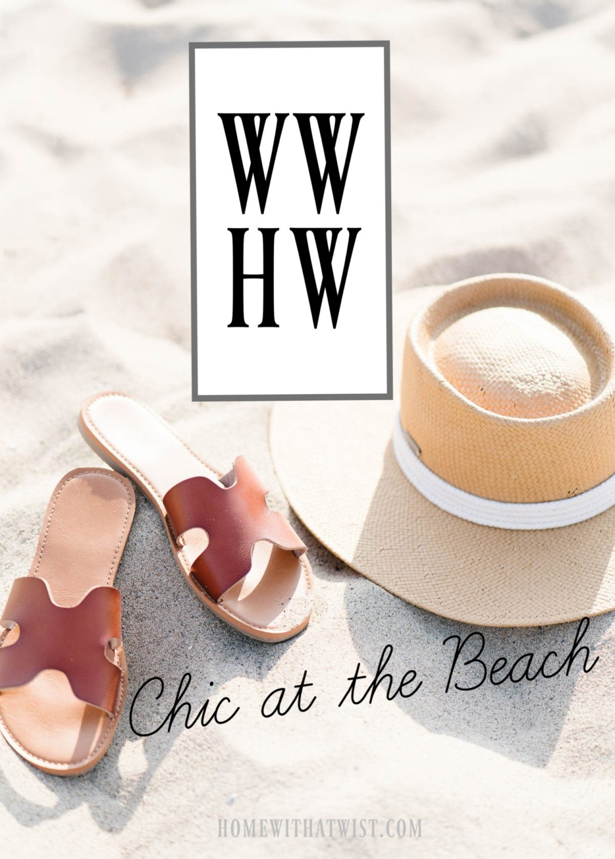 What Would Holley Wear: Neutral Chic at the Beach