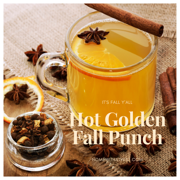 Hot Golden Fall Punch