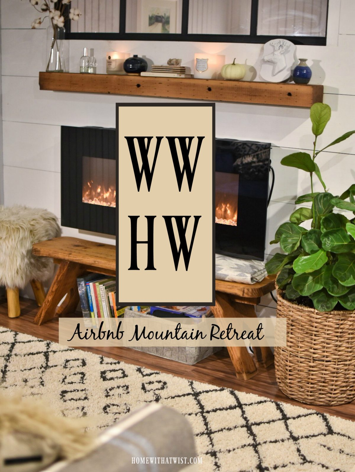 What Would Holley Wear:  Airbnb Mountain Retreat