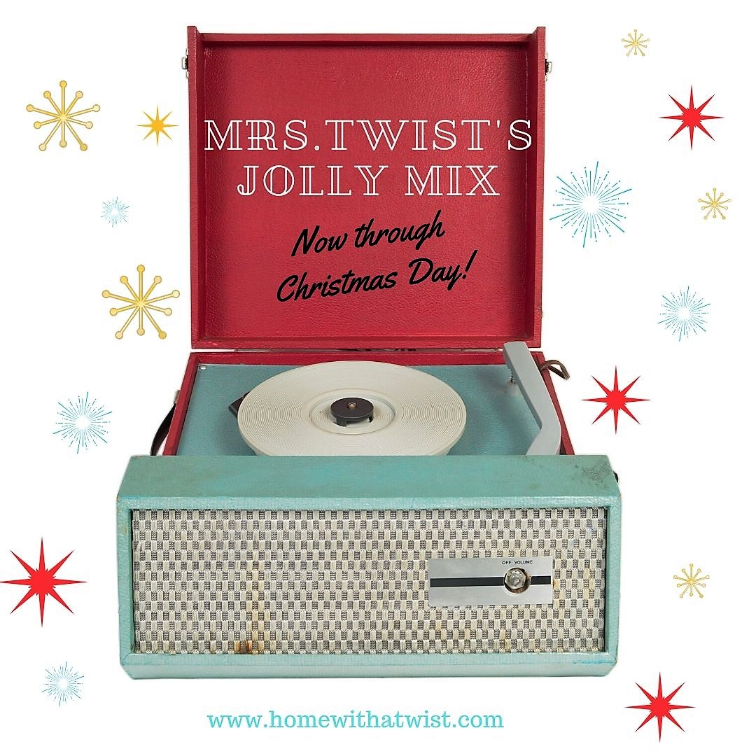 Mrs. Twist's Jolly Mix – Spotify Playlist for the Holidays