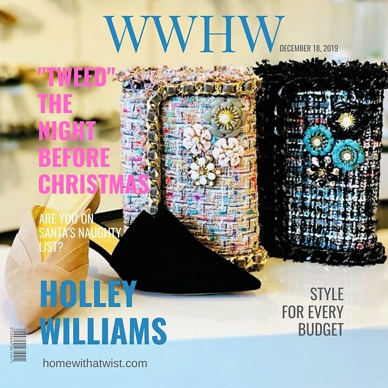 "What Would Holley Wear:  ""Tweeds"" the Night Before Christmas"