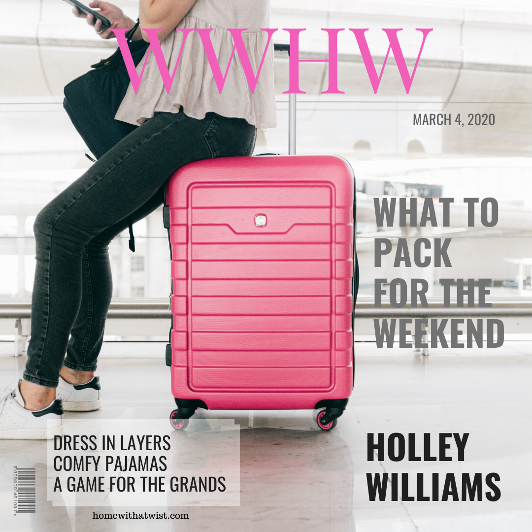 What Would Holley Wear: What's in my Suitcase