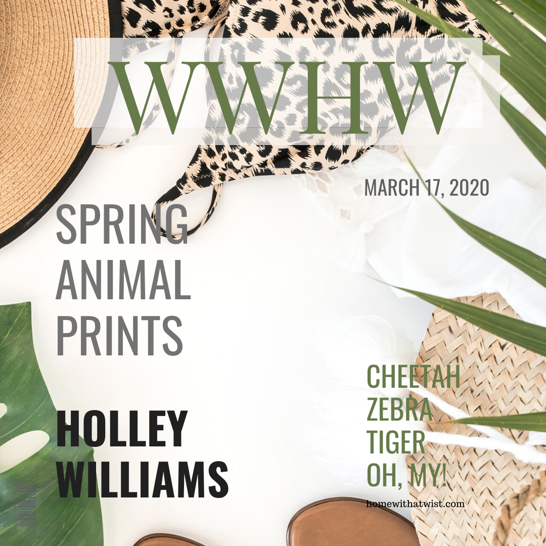 What Would Holley Wear: Spring Animal Prints