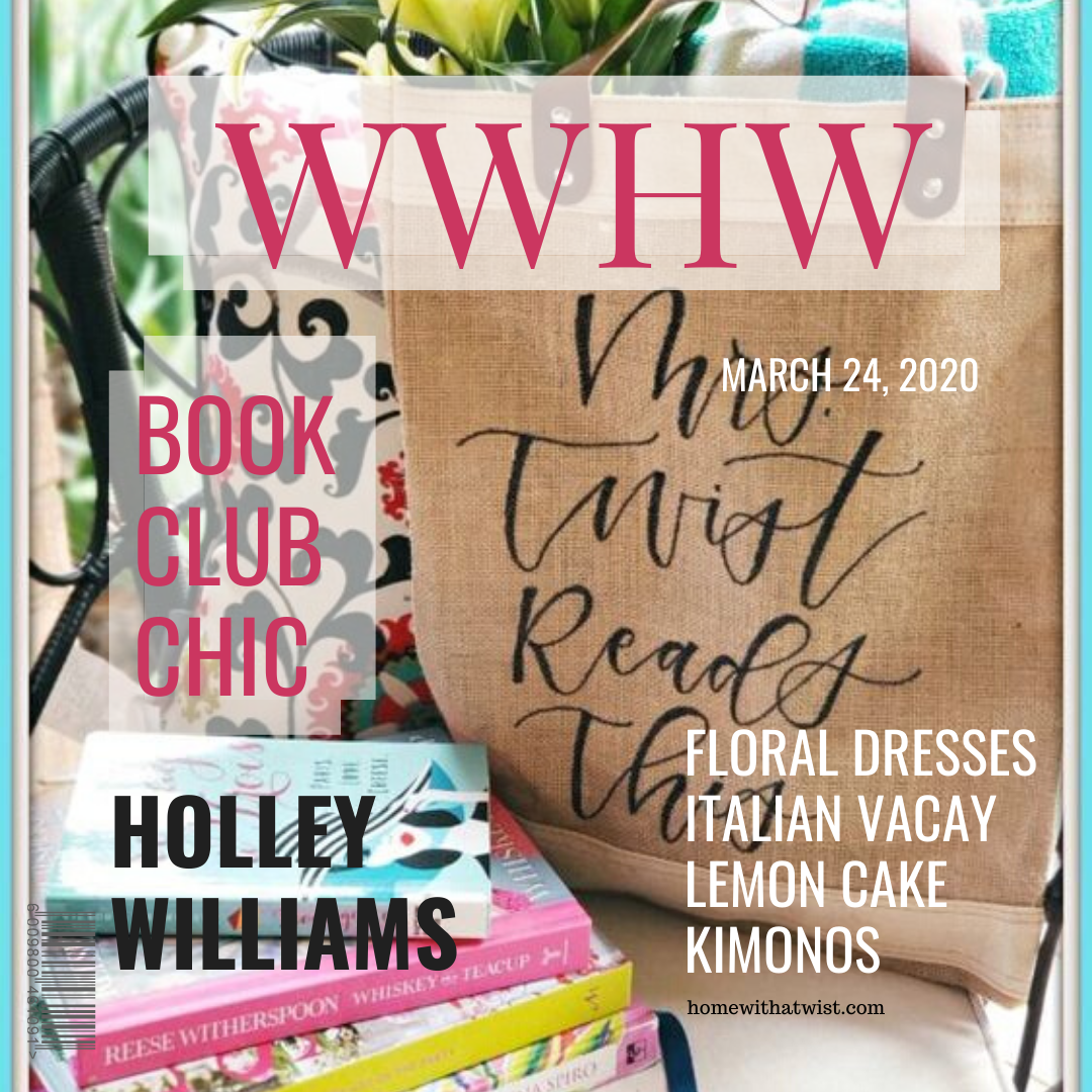 What Would Holley Wear:  Book Club Chic