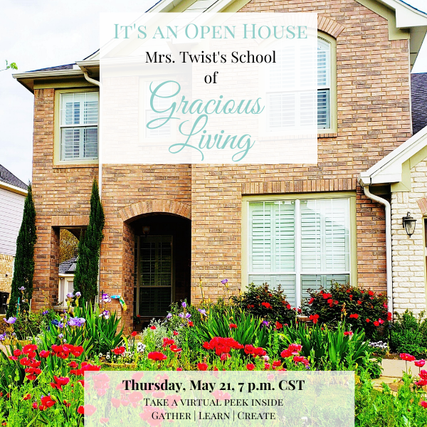 Let's Gather for a Virtual Open House!
