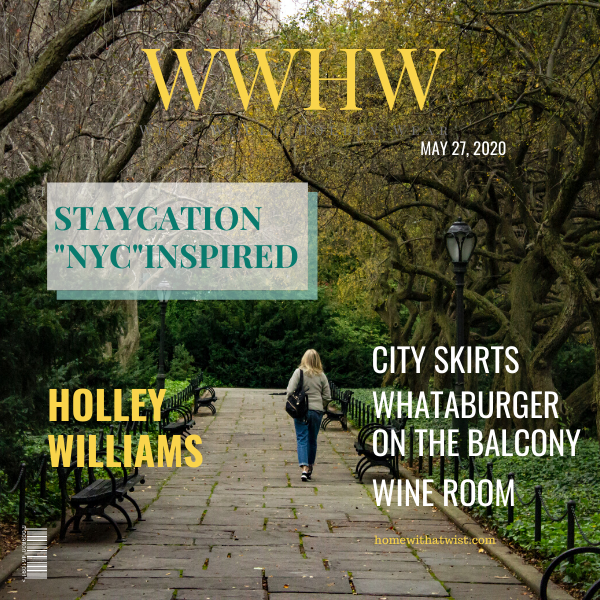 What Would Holley Wear: Staycation NYC Inspired