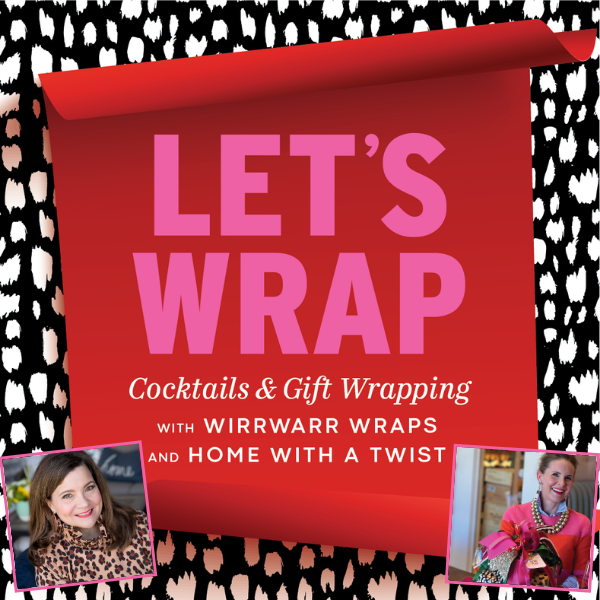 It's a Wrap Party! Gift wrapping and cocktail class