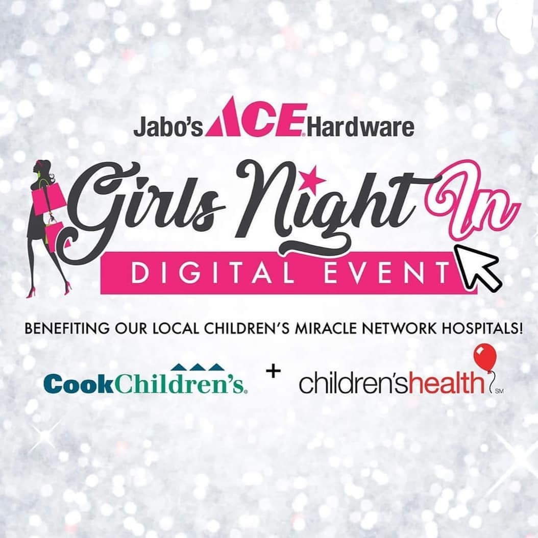 Jabo's Ace Hardware Virtual Girls Night In