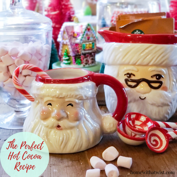 Homemade Hot Cocoa to Sip or Give