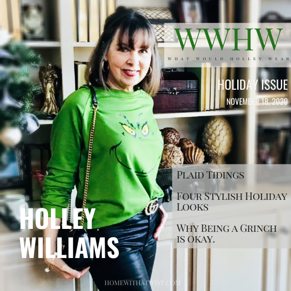 What Would Holley Wear:  Four Stylish Ways to Get into the Christmas Spirit